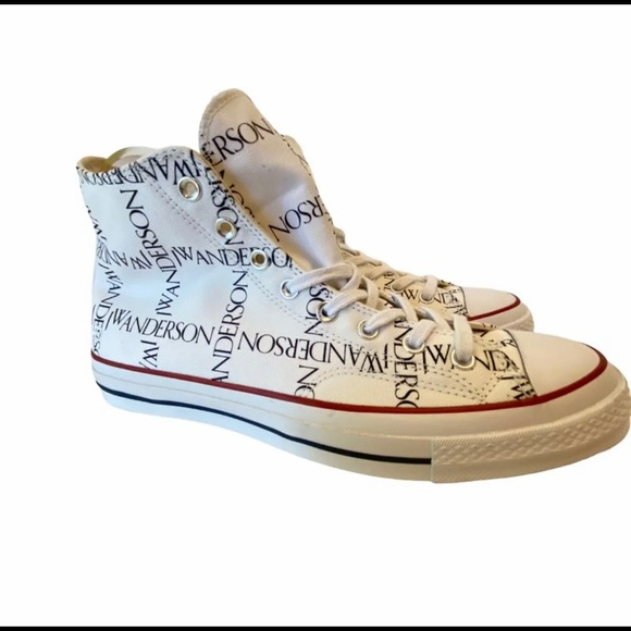 Jw Anderson Converse Grid Size 11 New